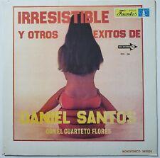 Daniel Santos Con El Cuarteto Flores Irresistible Y Otros Exitos De LP 1979 MCA