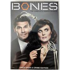 Bones: The Complete Eighth Season (DVD, 2013, 6-Disc Set)  season 8.