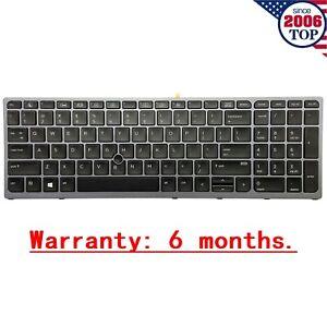Original US Keyboard Backlit & Pointer for HP Zbook 15 G3 G4 17 G3 G4 848311-001