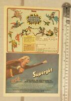 Supergirl Movie RARE Print Advertisement