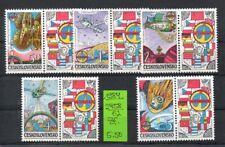 Tschechoslowakei - 1984   2758/62 m. Zf.** - Raumfahrt