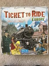 Ticket To Ride: Europe - Days of Wonder 2-5 Player Board Game - 100% Complete