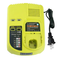Replace for Ryobi 12V-18V Battery Charger One+ Battery P117 Dual Chemistry