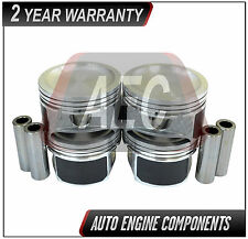 Piston Set Fits Ford Mazda Escape Focus B2300 Tribute 2.3L Duratec  SIZE 040