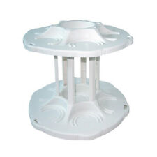 Can 2-Tier Spinning Carousel Bottle Shelf Can Tamer Spin 360 Degree To View