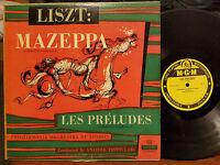 Liszt: Mazeppa/Les Preludes (Symphonic Poem 6/3) Anatole Fistoulari (LP) VG-/G+