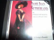 Dame Joan Sutherland With The Australian Pops Orchestra Evening To Remember CD