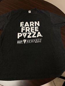 Pizza Hut employee shirt 2xl gray t21