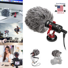 Pro BOYA BY MM1 Cardiod Shotgun Microphone MIC Video for IOS Android Smartphone
