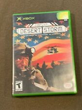 Original XBox Video Game Conflict Desert Storm Rated T NICE