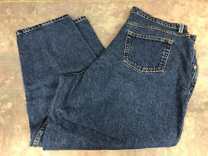 Womens Faded Glory Plus Size 20 Relaxed Fit Blue Jeans USA