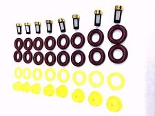 FUEL INJECTOR REPAIR KIT O-RINGS, PINTLE CAPS, SPACER FILTERS FORD V8