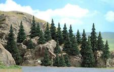 More details for busch 6469 tt 25 assorted fir trees new