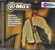CD Compilation: E-Max: La Selection Elektronik de Max. Warner. A3