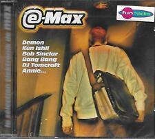 CD Compilation: E-Max: La Selection Elektronik de Max. Warner. A3