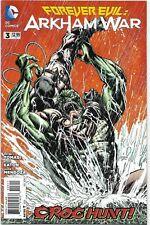 Forever Evil: Arkham War #3 - VF/NM - 2013 - Bane / Killer Croc