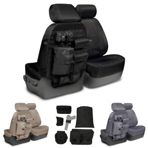 Coverking Tactical Ballistic Molle Custom Fit Seat Covers For Chevy Tahoe
