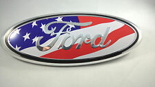 American Flag FORD 2004-2014 F150 Front Grille Emblem Oval Decal Badge Nameplate
