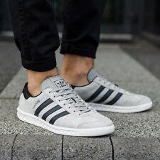 buy online 4ff6d 4ee2f Adidas Hamburg Grey Suede  Navy Stripe Mens 11 NEW spezial samba trimm