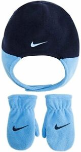 Nike Baby Trapper Hat and Mittens 2 Piece Set (2-4T)