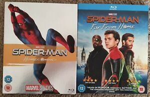 Spider-Man Homecoming & Far From Home Blu Ray (Marvel)