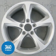 "1 x Genuine BMW serie 17"" 1 256 5 Spoke Stella Cerchi In Lega 36116778219"