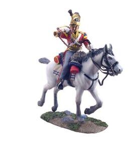 W Britain 36057 - British 1st Royal Dragoon Bugler Charging Napoleonic