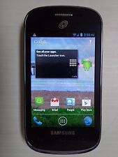 Samsung Galaxy Discover SGH-S730G Black TracFone Prepaid Read! -21