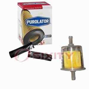 Purolator Fuel Filter for 1968-1975 Plymouth Road Runner Gas Pump Line Air uk
