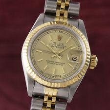 Rolex Lady Date Stahl / Gold Automatik Damenuhr Ref. 69173 VP: 7950,- €