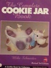 LARGE VINTAGE COOKIE JAR PRICE GUIDE COLLECTOR'S BOOK COLOR PHOTOS ++