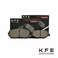 FRONT + REAR NEW Premium Ceramic Disc Brake Pad Set With Shims KFE1258 KFE1377