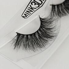3D Mink Natural Thick False Fake Eyelashes hand made  Lashes Makeup Extension