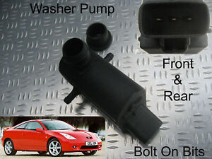 Front & Rear Washer Pump Toyota Celica 1999 2000 2001 2002 2003 2005 2006