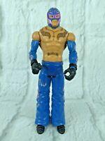 Rey Mysterio WWE Mattel Basic Series Wrestling Figure 2010 Blue Pink WWF WCW
