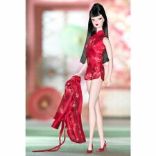 Chinoiserie Red Moon Silkstone Barbie 2004 BFMC Gold Label B3431 NRFB