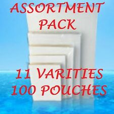 ASSORTMENT PACK Laminating Laminator Pouches 11 VARIETIES (100) W/ LETTER 3 MIL