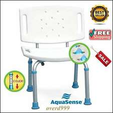 Chair Shower Bath Seat Non Slip Bench Bathtub Stool Medical Handicap Aid Safety