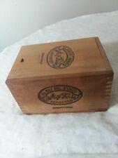 Vintage El Rey Del Mundo Wooden Cigar Box Tobacciana Cigar Smoking Tool Decor