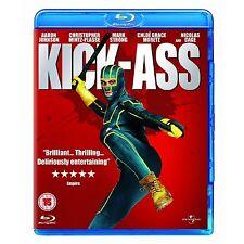 Kick Ass Blu Ray Nicolas Cage Mark Strong Matthew Original UK Rele New Sealed R2