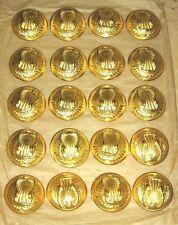 ensemble de 20 Boutons modele 1934 pour Capote Armée de l'Air  - diamètre 25mm