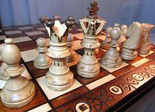 Chess Noble Chess of Wood 54x54 cm Handicraft
