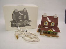 Dept 56 Heritage Village New England Village Sleepy Hollow Van Tassel Manor Vgc