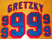 Gretzky New York Rangers Away (white) jersey kit