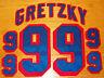 Wayne Gretzky New York Rangers Away (white) jersey kit NYR NHL #99