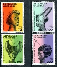 Gabon 486-489 MNH Traditional Hairstyle  x12113