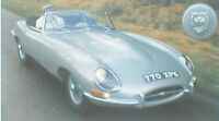 Jaguar E Type vs. Chevy CORVETTE Road Test Brochure