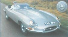 Jaguar E Type vs. Chevy CORVETTE Road Test Brochure
