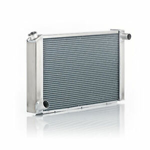 """Be Cool Radiator 35010 Natural Finish For Ford W/Dual 1"""" Core"""