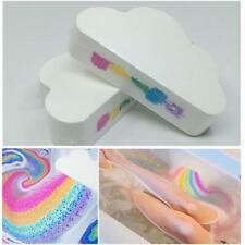 Cloud Rainbow Bath Salt Ball Essential Oil Effervescent Bubble Bath Bombs TN2F